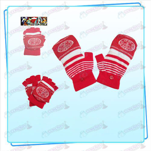 Reborn! Accessories Dual gloves (red)