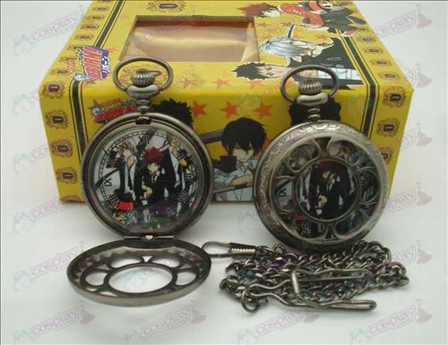 Reborn! Accessories hollow pocket watch (people) + Cards