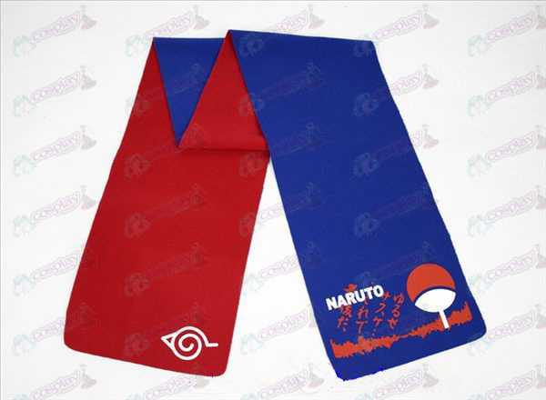 Naruto Sasuke-color double-sided Scarf