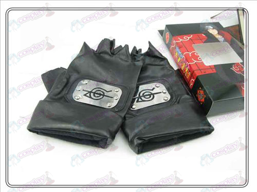 Naruto rebel endure lengthened leather gloves