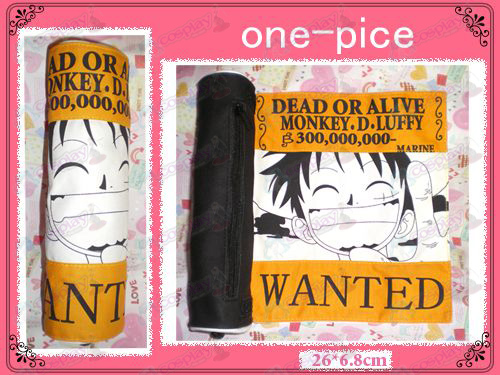 Luffy wanted Reel Pen (Yellow)