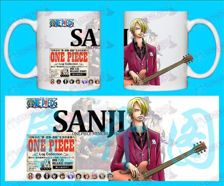 H-One Piece Accessories mug-SANJI