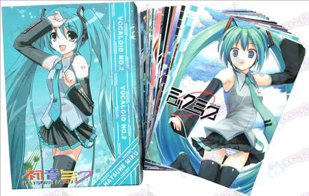 Hatsune Postcard + Card 1