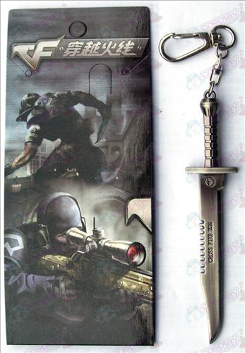 CrossFire Accessories dagger knife buckle