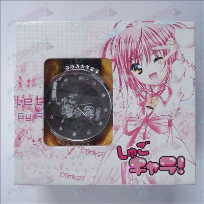 チ0ト2Shugo Chara! Accessories Watch (Black)