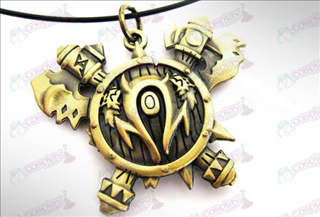 World of Warcraft Accessories Orcs necklace
