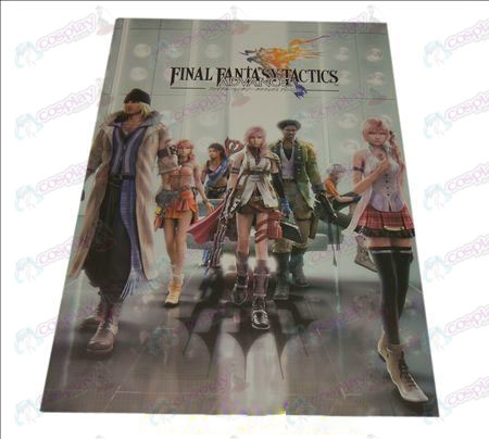D42 * 29Final Fantasy Accessories embossed posters (8)