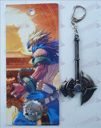 Underground into with the Warriors Keychain (ax)