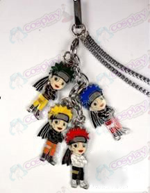 Naruto - Naruto Color 4 Pendant mobile phone chain