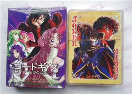 Hardcover edition of Poker (Code Geass Accessories)