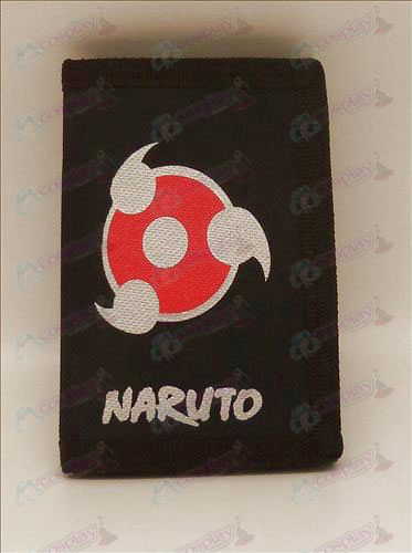 Canvas wallet (Naruto write round eyes)