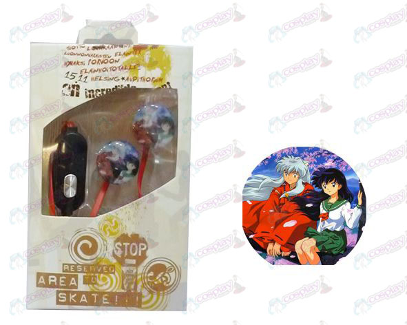 Flat line can voice headset InuYasha Accessories