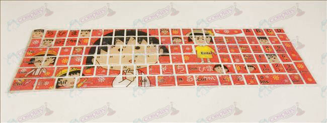 (Jelly keyboard stickers) Chibi Maruko Chan Accessories