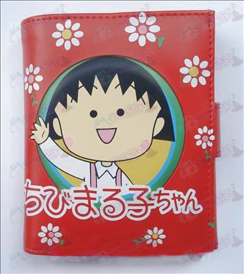 Q version of Chibi Maruko Chan Accessories Avatar wallet (B)