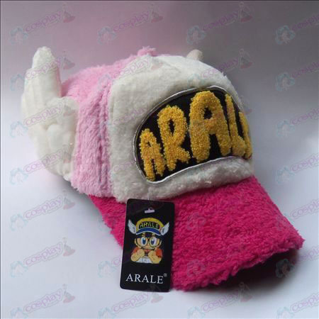 Ala plush hat (Rose brim)