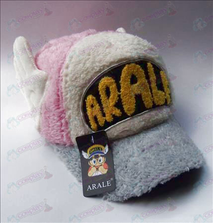 Ala plush hat (pink)