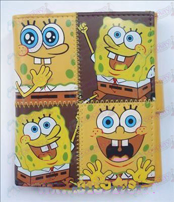 Q version of SpongeBob SquarePants Accessories Avatar wallet (C)
