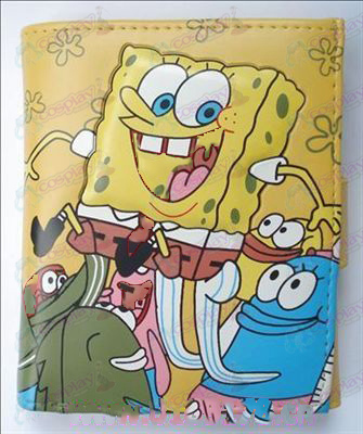 Q version of SpongeBob SquarePants Accessories Avatar wallet (A)