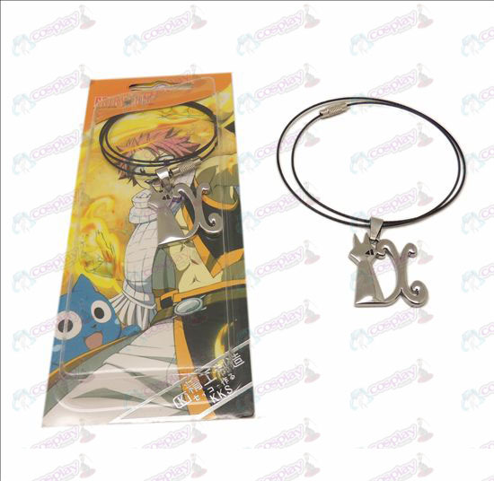 DFairy Tail Accessories demon cat necklace