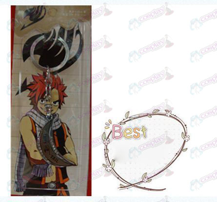 Fairy Tail Accessories moon keychain