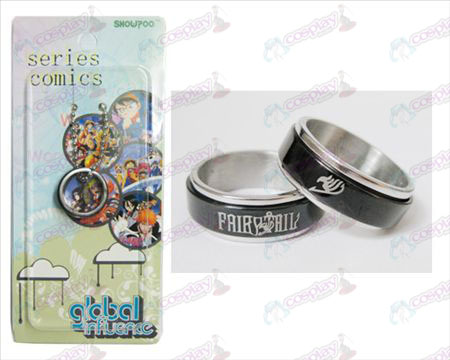 Fairy Tail Accessories Black Steel Ring transporter