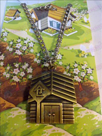 QQ Ranch Necklace (bronze chains)