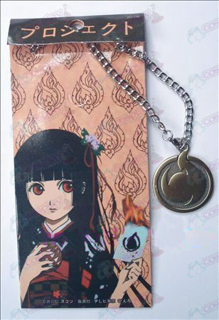 Hell Girl Accessories reincarnation necklace 30-1A (bronze)