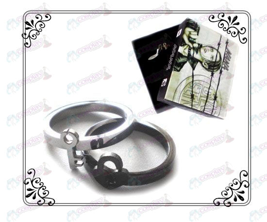 NANA Accessories stainless steel couple rings key