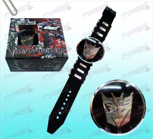 Transformers Accessories Decepticons black watches