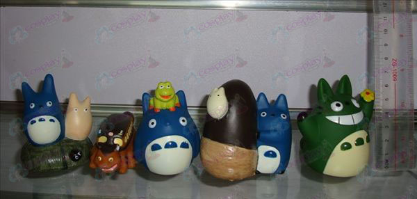 5 models Blue My Neighbor Totoro Accessories Doll