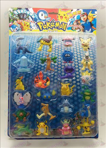 24, Pokemon Accessories (plastic bottle 1)