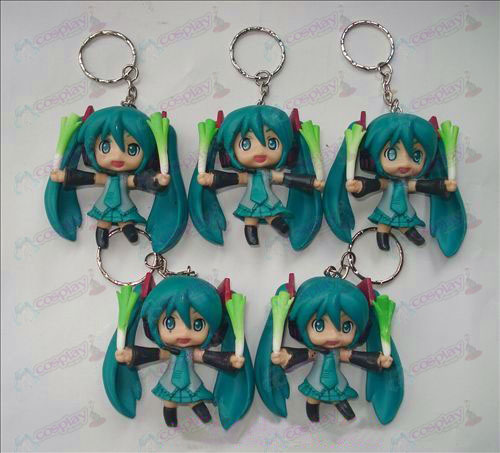 Hatsune take onions doll keychain (5 / set)