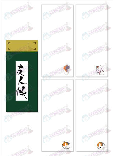Natsume's Book of Friends Accessories Long Scratch Pad 024