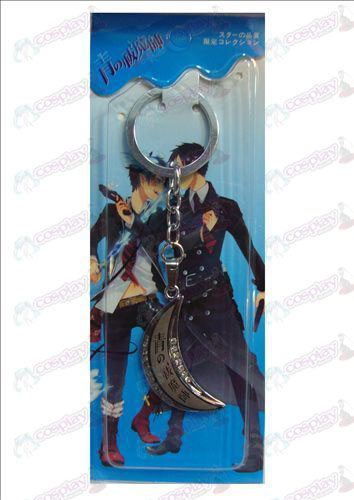 Blue Exorcist Accessories Moon Series Keychain