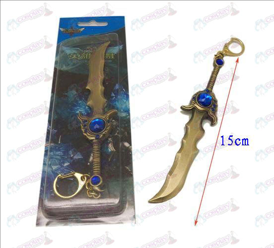 League of Legends Accessories knife buckle 12 (copper)
