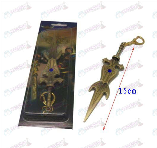 League of Legends Accessories knife buckle 10 (copper)
