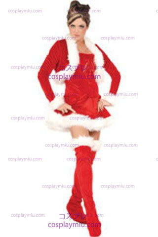 Ms. Claus Adult Medium