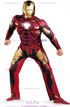 Iron Man 2 - Classic Mark 6 - Muscle Adult