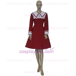 Chobits Chii Red Dress Cosplay Costume