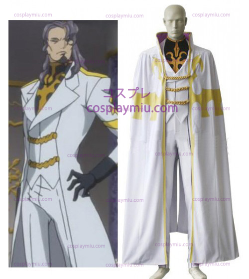 Code Geass Bismarck Waldstein Men Cosplay Costume