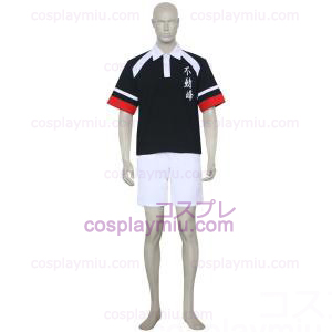 The Prince Of Tennis Fudomine Black and White Cosplay Costume