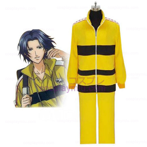 Prince Of Tennis Rikkai Yellow Uniform Cosplay