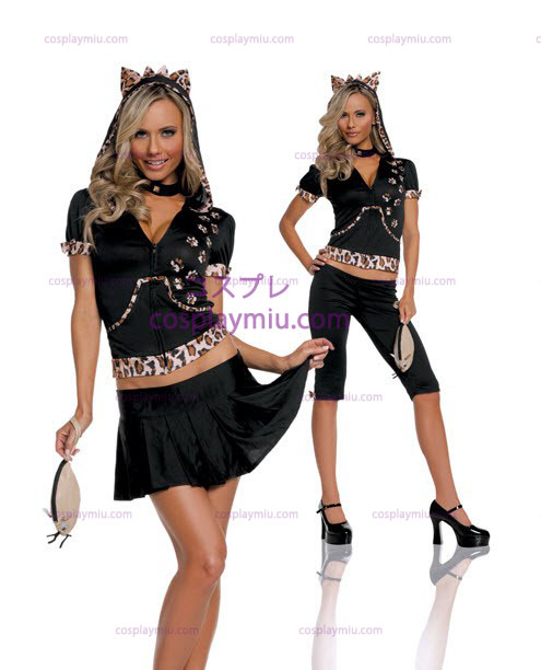Sassy Cat Adult and Teen Costume