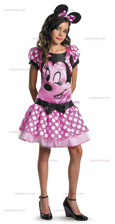 Clubhouse Minnie Mouse Pink Child Costume