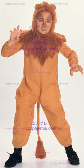 Wizard Of Oz: Cowardly Lion Child Costume