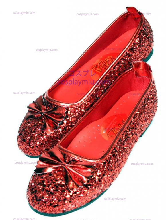 Wizard of Oz Child Size Dorothy Shoes
