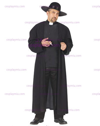 Mens Piazza Priest Costume