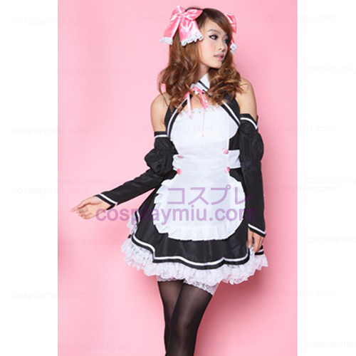 Black and White DS Performed Costume/Ultrashort's Maid Costumes