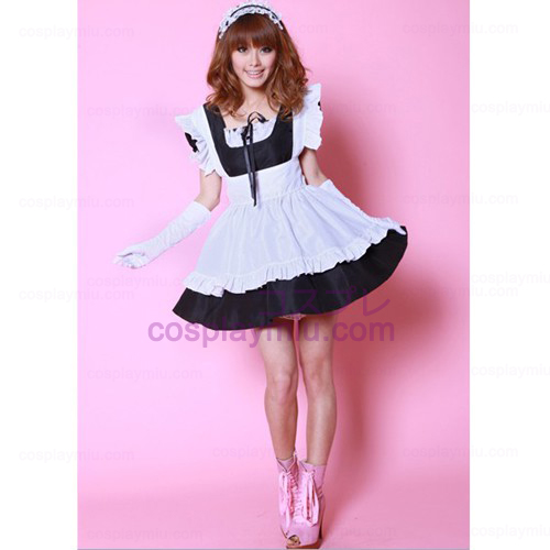 Anime Cosplay lolita Ball Gown /Princess Skirt Maid Costumes