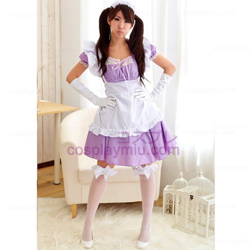 Lolita Ainme Cosplay Costume/Purple Maid Costumes
